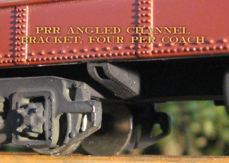 Pennsylvania Railroad Angled Channel Bracket or Bracing