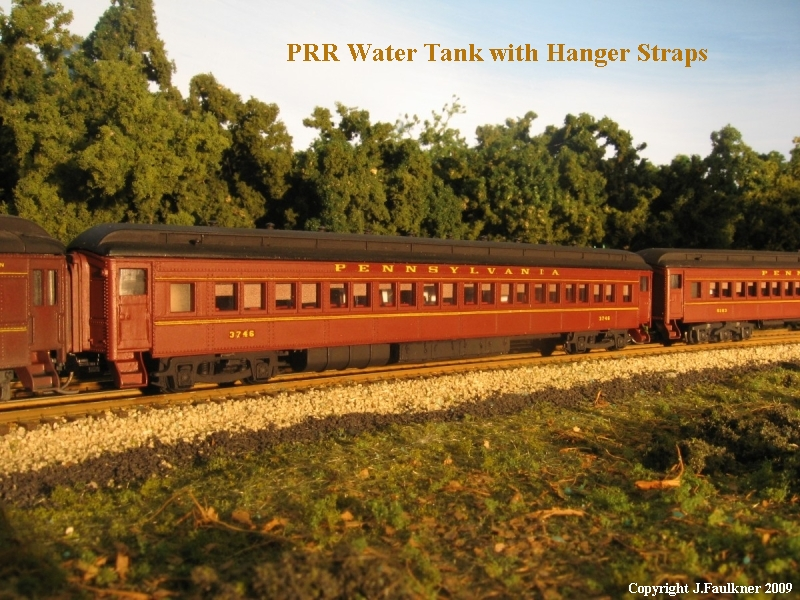 PRR Water Tank with Hanger Straps