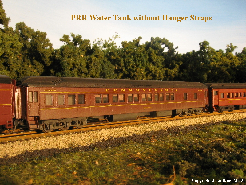 PRR Water Tank without Hanger Straps