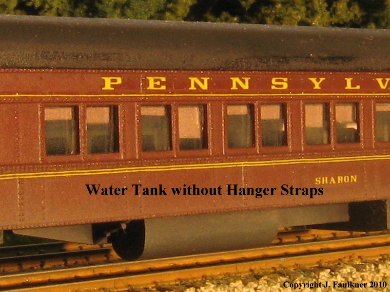 Pennsylvania Railroad Water Tank without Hanger Straps